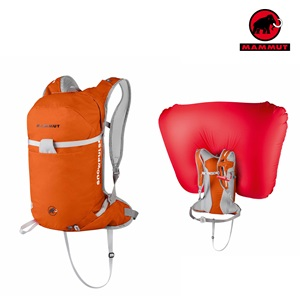ultralight removable airbag mammut