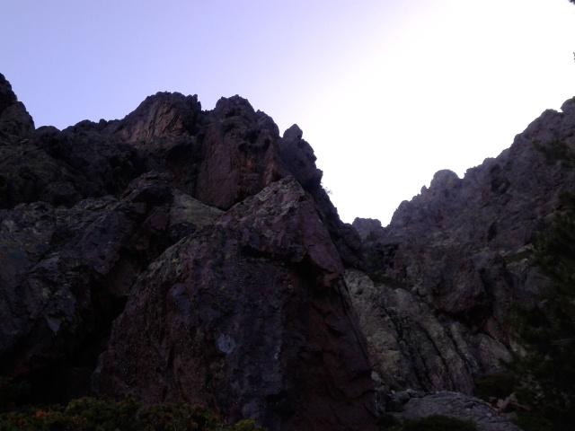 The sun climbs - last day