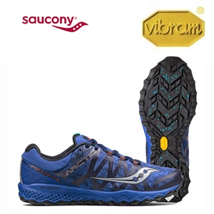 VIBRAM<br />SAUCONY Peregrine 7 Ice+ Powered by Vibram® Arctic Grip<br />Winter 2017.18