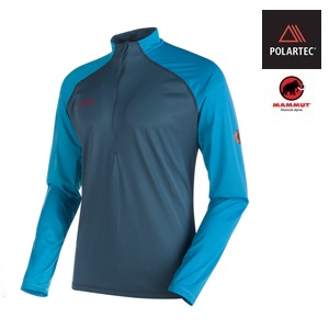 POLARTEC<BR /> MAMMUT Atacazo Light Zip Pull <BR /> Summer 2018