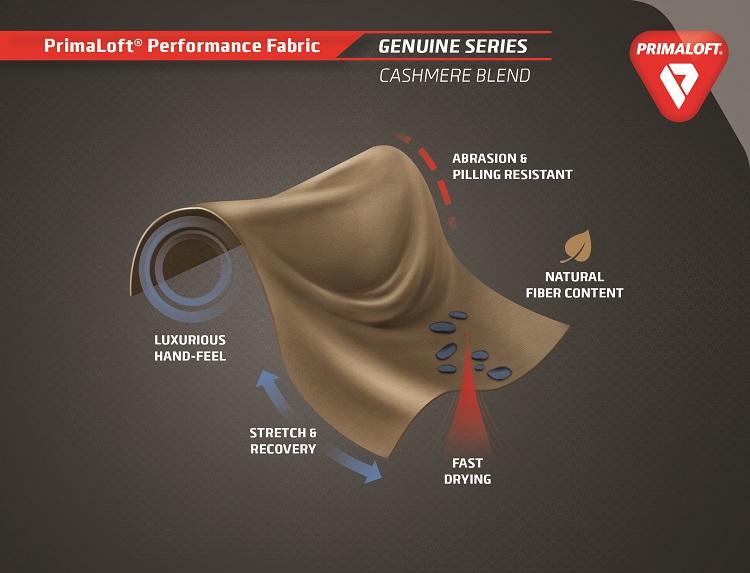 PrimaLoft_Performance_Fabric_Genuine_Series_Cashmere_Blend