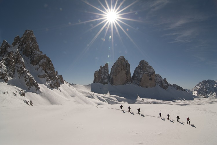 Image result for winter dolomites