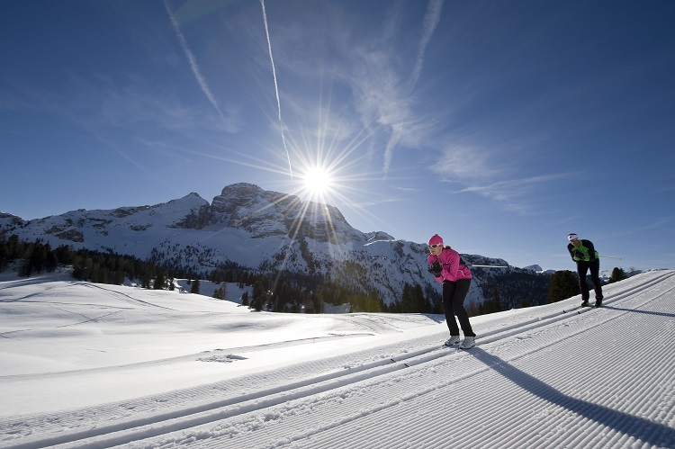 Fotoshooting TM Hochpustertal Winter 2010-11 Langlauf Platzwiese