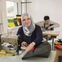 Vaude Upcycling-Projekt in der Nähwerkstatt