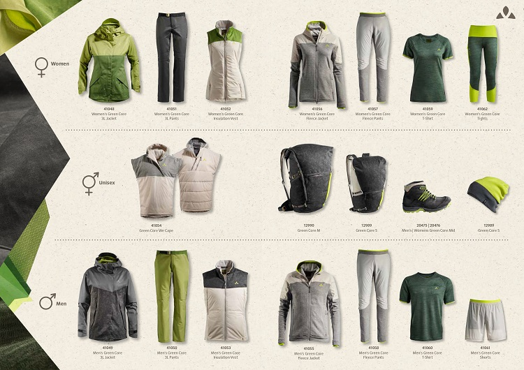 GreenShapeCoreCollection_W1819_Produktuebersicht