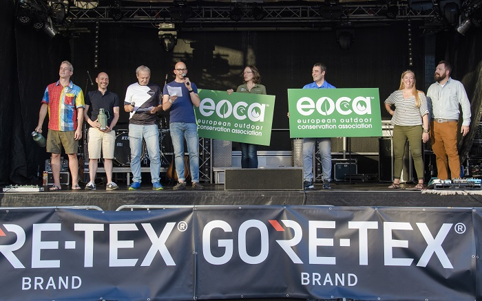 Outdoor Party 2018, EOCA Spendenaktion
