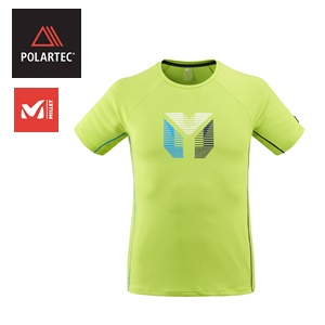 POLARTEC <BR >Millet Trilogy Delta Prisme TS SS M<br /> Summer 2020