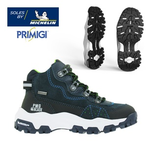 SOLES BY MICHELIN <BR > Primigi PMG #Black Lab Running 4X4 <BR /> Winter 2020.21