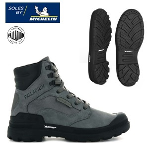 SOLES BY MICHELIN <BR > Palladium Pampa X Collection<BR /> Winter 2020.21