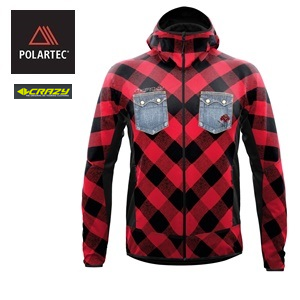 POLARTEC <BR /> Crazy Idea's Viper Jacket <BR /> Winter 2020.21