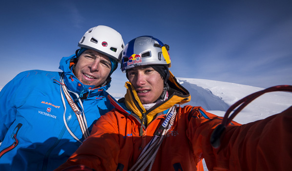 MAMMUT - Dani Arnold and David Lama in Alaska - MountainBlog Europe